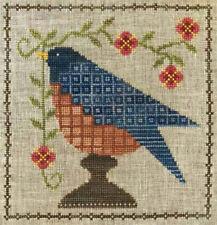 Bluebird Garden Artful Offerings Cross Stitch Pattern