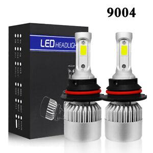 9004 HB1 LED Headlight Kit Hi/Lo Beam 1950W 292500LM Car Light Bulbs 6000K White