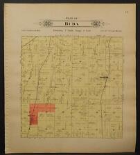 Nebraska, Lancaster County Map, 1903, Township of Buda, L1#43
