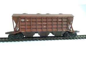 Kit for assembly model of Soviet Hopper wagon 11-739 type SZD HO scale