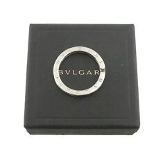 Authentic BVLGARI Key Ring Holder 925 Sterling Silver #f03068