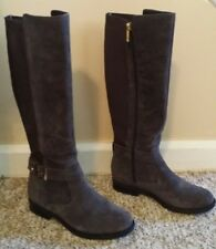 f9fff6df3 Tommy Hilfiger Brand  Women s Size 6 Suede Grey Knee Boots (New w Carrying