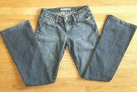 Joes Womens Denim Blue Jeans Size 27 Honey Fit Low Rise Distressed Boot Cut