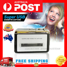 *NEW* Tape to PC Super USB Cassette-to-MP3 Converter Capture Audio Music Player