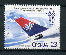 Serbia 2017 MNH National Airlines 90th Anniv 1v Set Planes Aviation Stamps