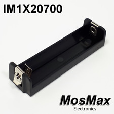 IM1X20700 MosMax single 20700/21700 battery tray/holder/sled injection molded
