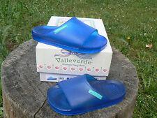 NUOVO Valleverde sandali ciabatte mare num.22 colore blu