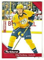 2017-18 Upper Deck PARKHURST RED PARALLEL 131 FILIP FORSBERG Nashville Predators
