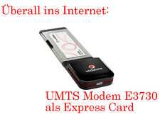 3G UMTS STICK WIFI MOBILE EXPRESS CARD E3730 FREI ALLE NETZE f. IBM THINKPAD T60