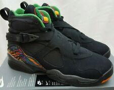 4fbaf76ad73d Nike Air Jordan 8 Retro GS Tinker Air Raid Black Shoe 305368-004 Youth Size