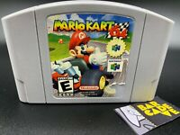 Mario Kart 64 (Nintendo 64) *AUTHENTIC, TESTED*