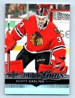 2014-15 Upper Deck Young Guns Scott Darling RC #498