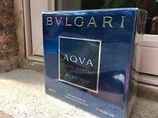 NIB BVLGARI AQVA Pour Homme Atlantiqve 50 ml EDT Aqua Atlantique 1.7 oz SEALED