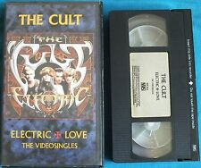THE CULT. ELECTRIC LOVE. THE VIDEOSINGLES. VHS. UK DISPATCH