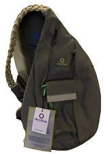 Ubun2bag Anti Theft Travel Rope Sling Bag Waterproof Crossbody Daypack - Gray