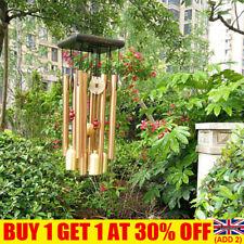 More details for large wind copper bells chimes garden yard home tubes ornament decor outdoor uk
