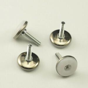 12PCS Adjustable M6 Leveler Leveling Feet Furniture Table Cabinet Leg Screws