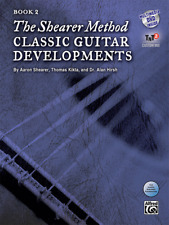 The Shearer Method-Classic Guitar Developments, MUSIC BOOK/DVD LEVEL 2-NEW-SALE!