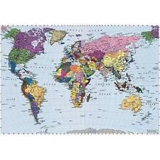 Fototapete Weltkarte 270x188 Worldmap