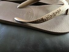 Women's Brown Havaianas FlipFlops Size Uk 6 / EUR 39-40
