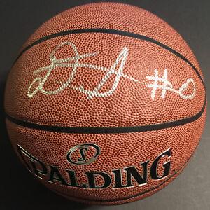 DeAndre Ayton JSA COA RARE SIGNED NBA SPALDING REPLICA BASKETBALL AUTOGRAPHED