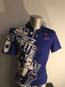 Vintage Specialized Body Geometry Cycling Jersey Mens  Size Large 4