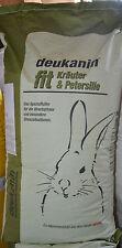 (EUR 0,58 / kg) deukanin fit Kräuter & Petersilie Kaninchenfutter 25 Kg