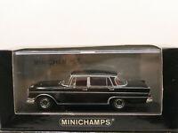 Minichamps 1965 Mercedes Benz 300 SE Lang Black 1:43 NEW Limited 2016