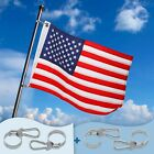 Affordura Boat Flag Boat American Flag for Boat with 4 American Boat Flag Clips