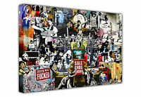 Dismaland Refugees By Banksy Poster Prints Wall Decoration Street Art