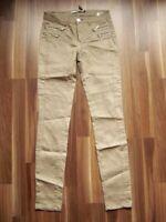 @ Only @ Jeans braun W28 L31 Size S Modell VOlivia coated noos Reißverschlüsse