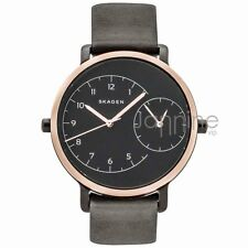 Skagen Authentic Watch SKW2475 Black Leather 36mm Hagen Women's