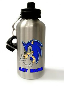Sonic the Hedgehog - Personalised Drinks/Water Bottle, Lunch Bag, Gym bag, Apron