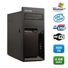 PC IBM Lenovo Thinkcentre M55E 9389-CTO Pentium D 3.00Ghz 4Go 500Go WIFI XP Pro