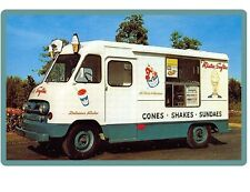 Mr Softee Mobile Ice Cream Truck  Ad  Refrigerator / Tool Box Magnet NEW!