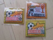 PANINI MEXICO 70 RARE BUSTINA PACKETS 3 DIFFERENT VERSIONS WORLD CUP 1970