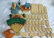 Lot Of 67 PCS Large Thomas & Friends The Tank Take Along Diecast Train Tracks