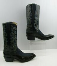 Ladies Justin Two Tone Western Cowgirl Boots Size : 8 A * NARROW *