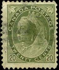 Canada Scott #84 Used  Catalogs $100