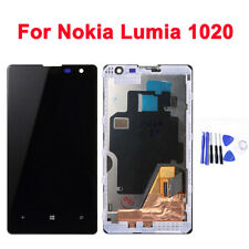 LCD Display Touch Screen Digitizer Replacement Black For Nokia Lumia 1020