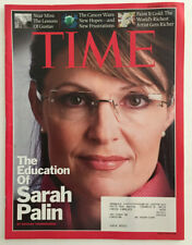 Time Magazine September 15, 2008 The Education Of Sarah Palin