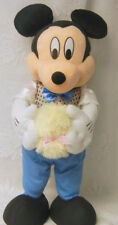 Vtg Disney Mickey Mouse Easter Chick Store Display Figure Not Animated Motionete