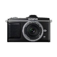 USED Olympus E-P2 12.3MP with 17mm f/2.8 Black Excellent FREE SHIPPING