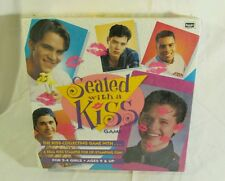 Sealed With A Kiss Game Rose Art 1995 Lip Stamper Kiss Collecting BRAND NEW