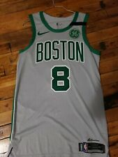 Shane Larkin Game Worn Boston Celtics Gray City Edition Jersey Nike Size 46