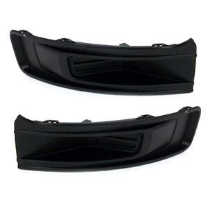 2013-2015 Ford Flex Front Bumper Fog Light Lamp Hole Covers Right & Left Set OEM