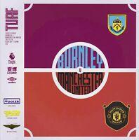 Burnley  v Manchester United Premier Lge Programme 19/20