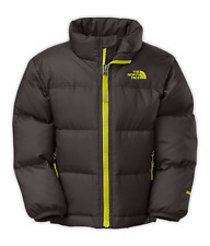 Brand New The North Face Youth Boys Nuptse II Jacket Graphite Grey M 10/12