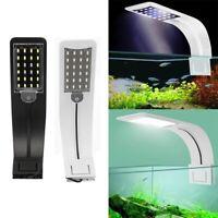 Bright LED Aquarium Light Plants Grow Light Waterproof Clip-on Lamp Fish Tank