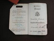 Miyeko Takita U.S. Consulate General Munich Nürnberg Military Post Passport